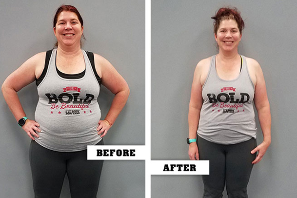 Fitness Before and After - Roslyn